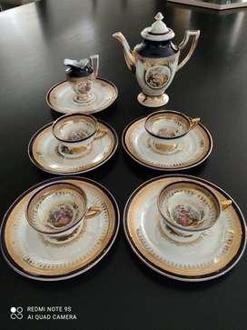 Juego de tea Antiguo