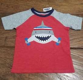 Camisetas niño talla 3 años nuevas $20.000 cada una