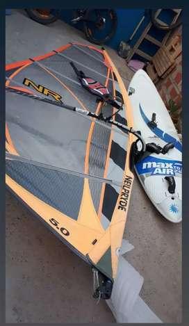 Equipo completo windsurf 5.0