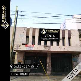 Local en venta •Calle 45 e/ 4 y 5•