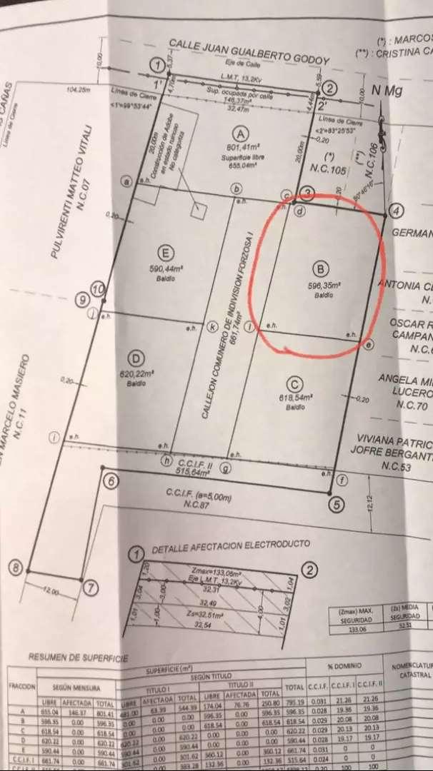 Vendo lote Excelente zona y ubicación Dorrego gllén 0