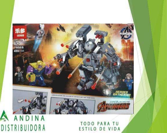 Set De Construcción Depredador Máquina De Guerra Lego Marvel 0