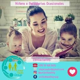 Niñera / cuidadora niños