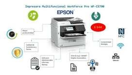 Impresora Epson Multifunción Workforce C5790 Wifi