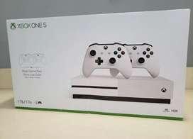 xbox one S 2 controles 6 meses de gamepass factura y garantia