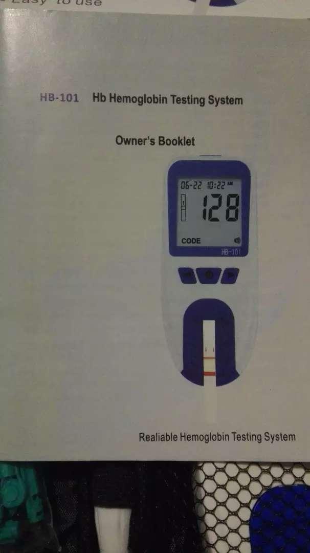 Equipo portatil Test de Hemoglobina 0