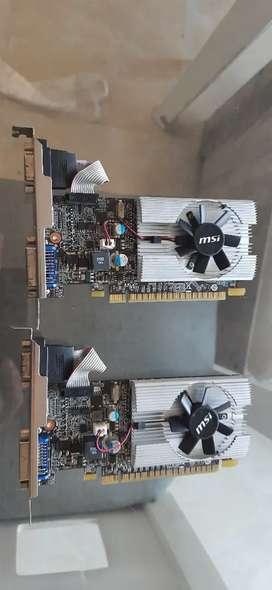 Vendo tarjeta gráfica N210 MSI