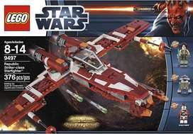 Lego Nave espacial lucha contra el imperio Star wars