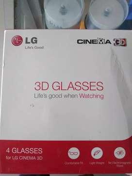 Lentes 3d LG nuevo en caja a 30