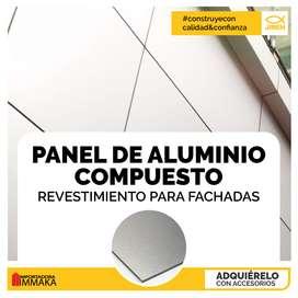 Paneles de alucobond aluminio compuesto interior - exterior esmeraldas