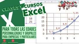 CLASES Y CURSOS Excel