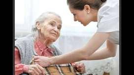 Empleada cuidado adulto mayor