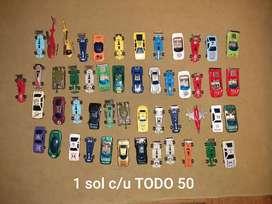 Colección de Autos de metal simple