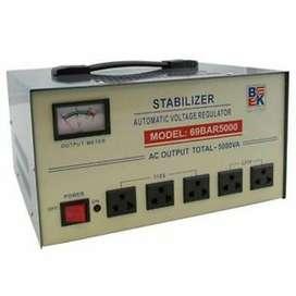 Bk 69bar5000 Automatic 5000 Watt Voltage Stabilizer
