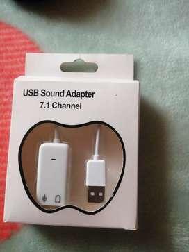 Vendo adapter usb 7.1 channel