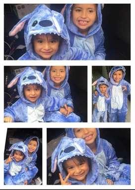 Pijama estilo Stich para niños