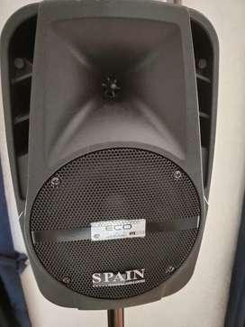 Cabina de sonido Spain de 8'
