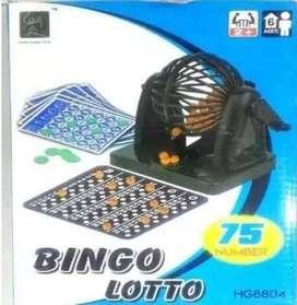 Bingo Lotto Balotera Juego Mesa Familiar