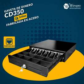 Gaveta de Dinero Cajon de Dinero Caja registradora Caja de Dinero Guarda tu dinero seguro 3nstar CD350