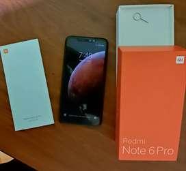 Redmi note 6 pro de 6/64 gb dual SIM sin detalles