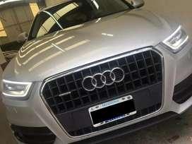 Audi Q3 AUTOMÁTICA 2.0 T Quattro Impecable 1ra Mano Liquido
