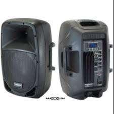"Cabina Sonido Maxlin 10"" Parlante Bluetooth Activa. pmx320z"