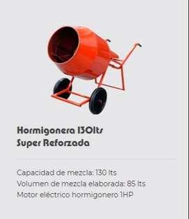 HORMIGONERA 130LT 1 HP
