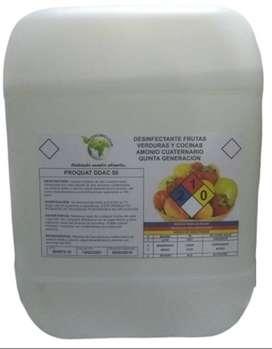 amonio cuaternario quinta generación garrafa de 20 litros