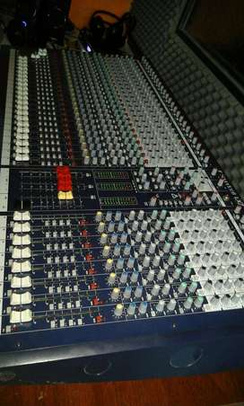consola soundcraft lx7ii 32 canales