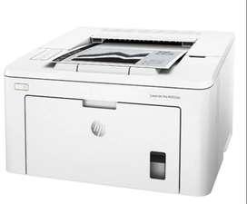 Impresora HP LaserJet Pro M203dw con wifi blanca 100V/220V