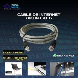 Cable de red (internet)
