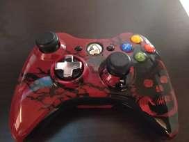 Vendo control inalámbrico box 360 edición gear