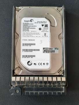 Disco Duro SAS Seagate 250 GB para Servidor