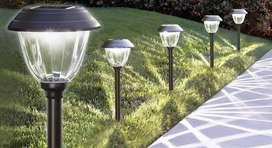 Luces Solares Led Para Caminos (10 Unidades)