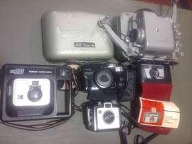 Camaras y proyectores antiguos