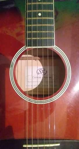 Guitarra acústica SX precio charlable