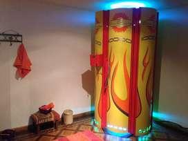 Cabina solar vertical