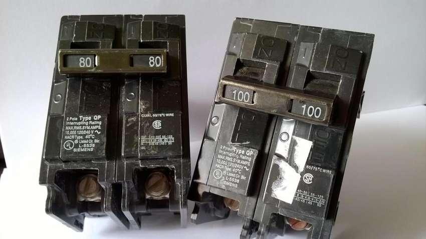 Breaker Bipolar 40 50 80 y 100 A Siemens Nuevo 0