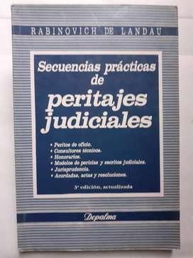 Secuencias practicas de peritajes  judiciales Depalma RABINOVICH DE LANDAU