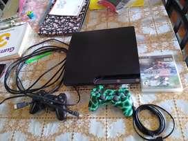Play 3 Slim Dos Mandos Y Juegos