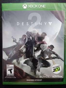 Destiny 2 Xbox One nuevo y sellado