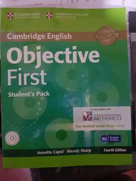 Libro objective first advance