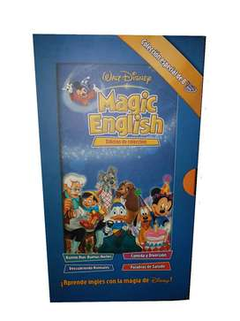 8 dvd Curso Inglés Magic English Disney Edicion Especial