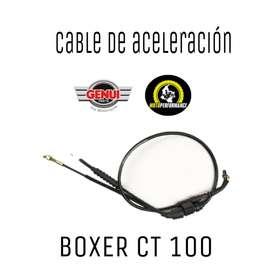 Guaya aceleracion Boxer ct 100