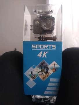 Camara Sports para motos 4k