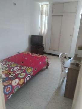 Habitación  amoblada persona  sola