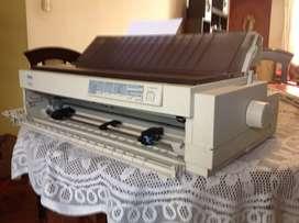 Vendo impresora Epson LQ-2070 matricial, planillera, 24 pines