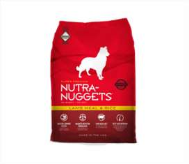 NUTRA NUGGETS LAMB MEAL & RICE - 3 KG