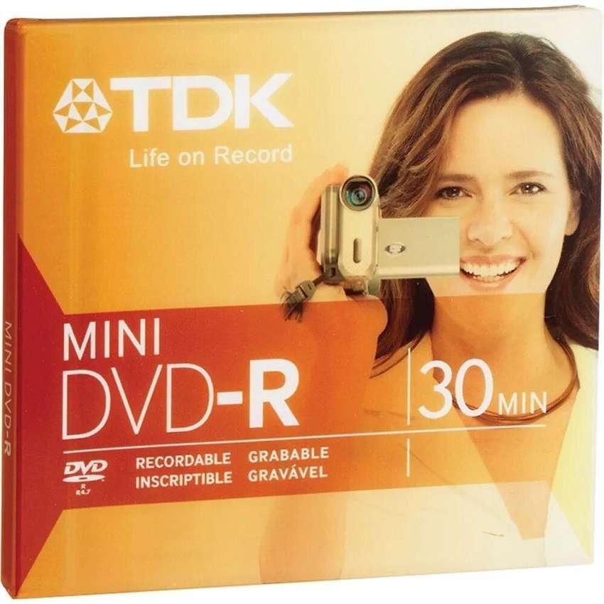 Mini Dvd-r Grabable Vírgen Tdk 30 Min Blister Cerrado 0