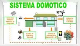 Sistema domótico para casa o negocio.